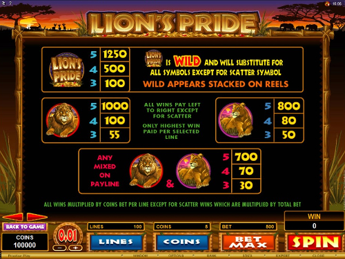 See The Bonuses Included in the Game